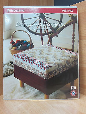 Husqvarna Viking Embroidery Card 168 Beautiful Bargello By Janice Stewart