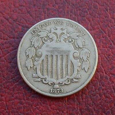 USA 1873 nickel 5 cents