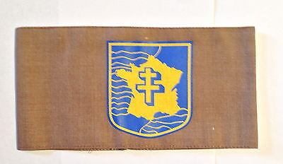 FREE FRENCH ARMY FFI  FRENCH RESISTANCE Armband SCREEN PRINTED