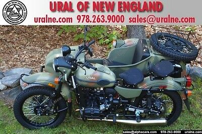 Ural Forest Camo $1,478 OFF! Custom Color! Powder Coated Drivetrain! Rear seating pkge!