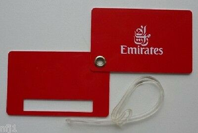 EMIRATES AIRLINES - Luggage Tag (New)