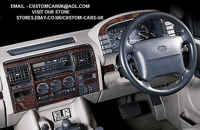 Walnut Or Carbon Fibre Dash Kit - Land Rover Discovery 1 (1994-1998) RHD & LHD