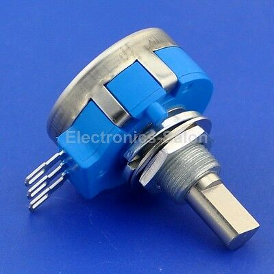 RVQ24YN03 20F B502 Potentiometer, 5K OHM Long Life Panel Pot, COSMOS/TOCOS
