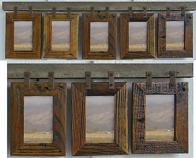Barn Wood Rustic Collage Picture Frames For 5 4 X 6 And 3 4x6