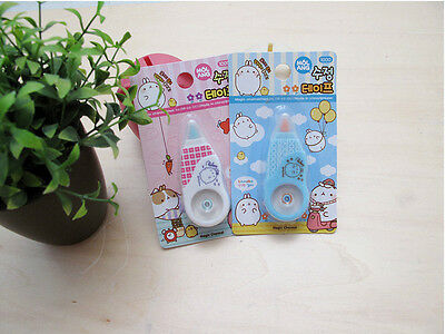 [MOLANG #SHOP] Molang Doll Cute Correction Tape KOREA OFFICAL GOODS NEW