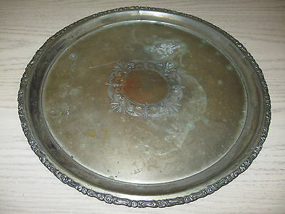 Barbour Silver Plate #2523 Serving Tray 1892-1898