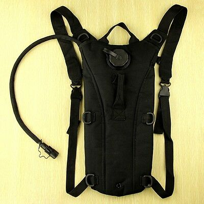 Cycling Hiking Survival Hydration System Water Bag Pouch Backpack With Bladder