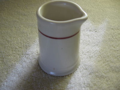 Vintage Homer Laughlin Cream or Syrup Pitcher 1970's No Handle Style VGC NR