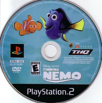 Finding Nemo  (Sony PlayStation 2, 2003) PS2 Fast Shipping!