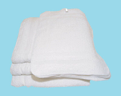 48 pc cotton terry cloth cleaning towels shop rags 12x12 soft polishing cloth