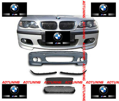 Parechoc Pare Choc Avant Pack M M2 En Abs Bmw Serie 3 E46 Berline Break Touring