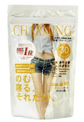 ha0803 Japanese-Diet-Tea-Charming-30-bags-for-30-days-Ranking-No-1-from-Japan