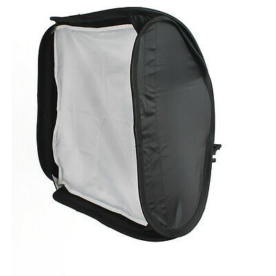 Flash Speedlite Softbox Diffuser 60x60cm Portable Studio Soft Box for Speedlight