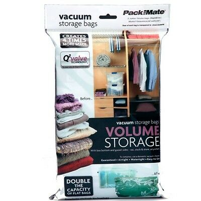 Packmate Jumbo Volume Vacuum Storage Bag - Set of 2