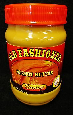 3X Diversion Safe Jar Old Fashioned Creamy Peanut Butter Valuables Free Ship