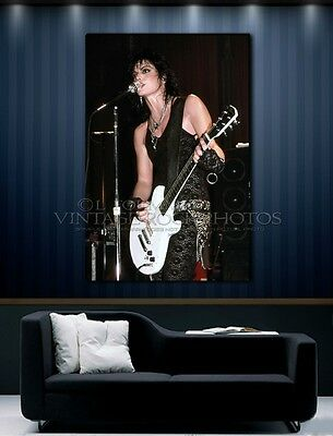 Joan Jett 20x30 inch Poster Size Photo Live '87 Concert Pro Canon Print  L7