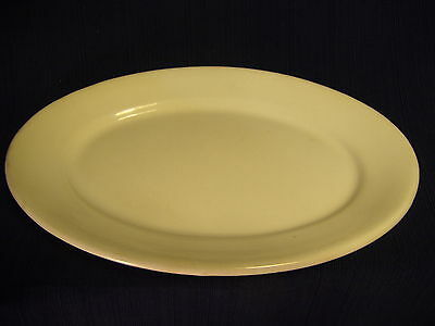 Vtg KT & K White Ironstone Oval Platter Restaurantware Knowles Taylor Knowles