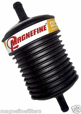 "2 Magnefine 3/8"" Inline Magnetic Power Steering Filters"