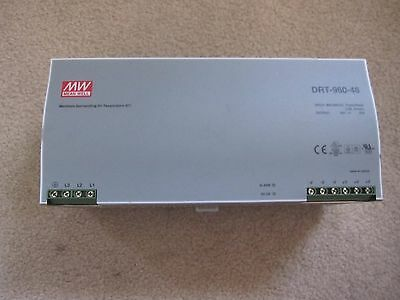 Mean-Well DRT-960-48 AC/DC Switching 3 Phase Power Supply MSRP $245