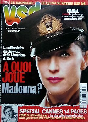 French mag 2003: MADONNA_CARL LEWIS_FRANCOIS TRUFFAUT_Mel GIBSON (FREE SHIPPING)