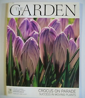 The Garden Magazine. February, 2008. Crocus On Parade. Success In Moving Plants.