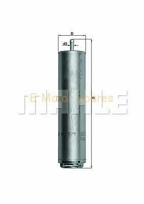 MAHLE ORIGINAL Fuel filter BMW 3 Series KL579D