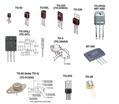100 x 2N4403 PNP Small Signal TO-92 General Purpose Transistor Free US Shipping