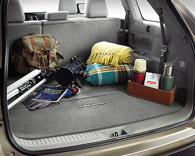 Genuine Toyota Carpet Cargo Mat for 2014 Highlander-New, OEM