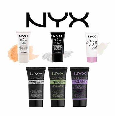 NYX Foundation Primer CHOOSE Angel Veil Shine Killer Pore Filler Photo Loving