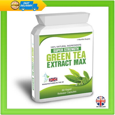 Green Tea Pure Extract 60 Capsules Plus Weight Loss Dieting Tips