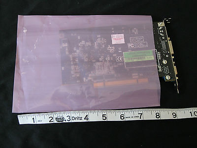 5 Anti-Static Pink Poly Bags 8x6 Hard Drives Motherboard Electronic LCD Parts