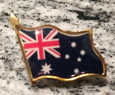 AUSTRALIAN FLAG Enamel BADGE Pin Souvenir Australia Day Lapel New