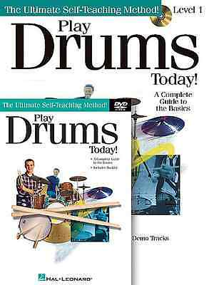Play Drums Today -Instruction -Lesson Dvd+Cd+Book