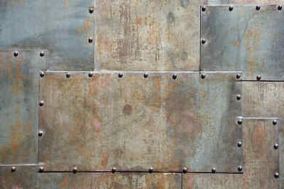 Metal Sheets-12'W by 8'H-Wall Mural