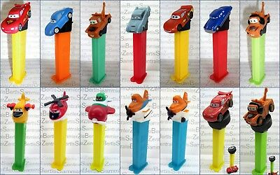 PEZ - DISNEY CARS and PLANES  -  Please select !!!