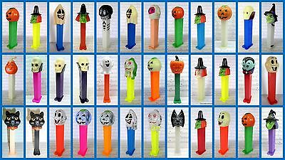 PEZ - HALLOWEEN - WITCH - SKULL - PUMPKIN - CAT - MUMMY - Please select !!!