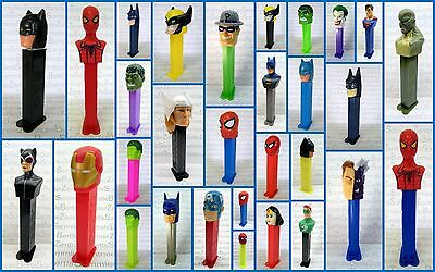 PEZ - HEROES - BATMAN - HULK - WONDERWOMAN - SPIDERMAN - FLASH - Please select