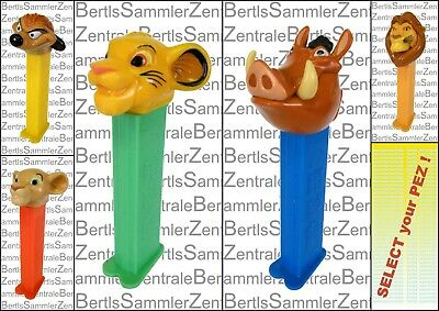 PEZ - LION KING - MUFASA - NALA - SIMBA - PUMBAA - TIMON - Please select !!!