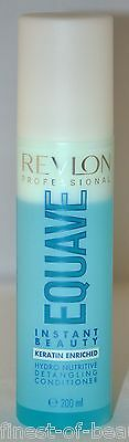 Revlon Equave HYDRO NUTRITIVE Keratin Spray Conditioner 2x 200ml (5,24€/100ml)
