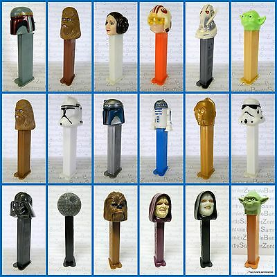 PEZ - STAR WARS - DARTH VADER - LUKE SKYWALKER and OTHER - Please select !!!