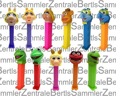 PEZ - The MUPPETS -MISS PIGGY -GONZO -FOZZIE BEAR -KERMIT -ANIMAL -Please select