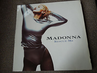"""Madonna Rescue Me RARE German 12"""" Single - Spined Sleeve"""