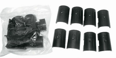 "100 Packs Metro/Others Clips Split Sleeves for 1"" Pole Free Shipping USA Only"
