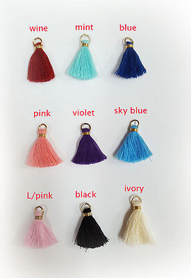 "1"" Thread Tassels  Embellishments Cotton Tassel Tiny motif wholesale lots"