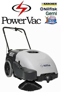 Nilfisk Sw750 Battery Walk Behind  Floor Sweeper Warehouse Alto 350 (Tennant)