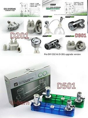 Professional DIY CO2 Kit generator planted aquarium live plants D201 D301 D501