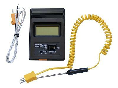 K Type Digital Thermometer -50°C to 750°C sensor & insertion probe TM-902C