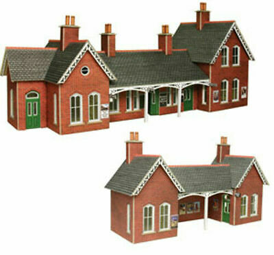 Metcalfe Country Station OO Gauge Card Kit PO237