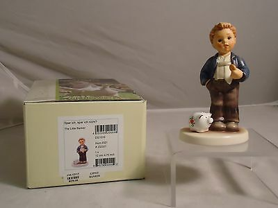 M.i. Hummel, The Little Banker, Hum. #2321, Tmk 9, New, Mib