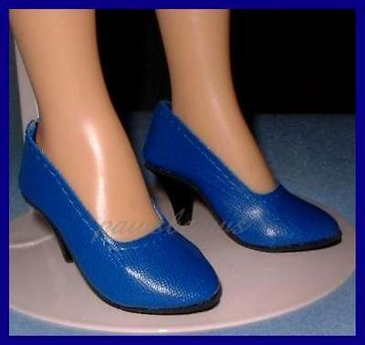 BLUE High Heel Pumps SHOES for Miss Revlon CISSY Dollikins FREE U.S.SHIPPING